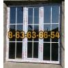 Изготовление пластиковых и аллюминиевых окон и дверей