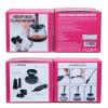 Makeup brush cleaner & drayer